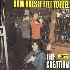 Creation How Does It Feel USA Bootleg