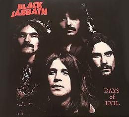 Black Sabbath - Days Of Evil - LP - Bootleg