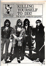 Black Sabbath - Fanzine - Killing Yourself To Die - No.6