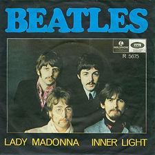 Beatles Lady Madonna Norway