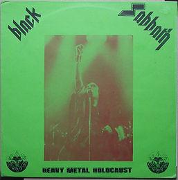 Black Sabbath - Heavy Metal Holocaust - LP Bootleg