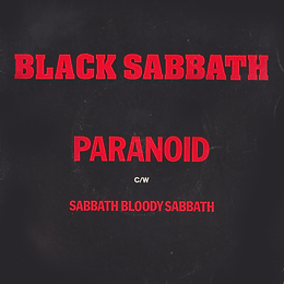 Black Sabbath - Paranoid / Sabbath Bloody Sabbath - UK - NEMS 112 - 1978 - front