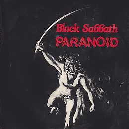 Black Sabbath  - Paranoid / Iron Man - Sweden - Planet/NEMS BSS 101 - 1980
