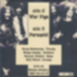 War Pigs / Paranoid Ltd ed of 50 copies in clear vinyl. Live at Santa Monica USA 09-04-75