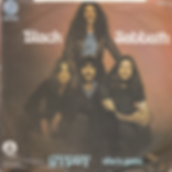 Black Sabbath - Gypsy / She's Gone - Yugoslavia - Radio-Televizija Beograd 6079 102 (S54 008) - 1976 - Back