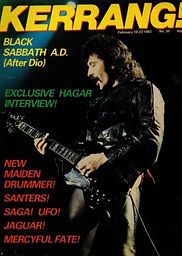 Black Sabbath - Kerrang No.35 - 1983