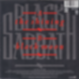 Black Sabbath - The Shining / Black Moon - Netherlands - Vertigo 888 997-7 - 1986 - Back