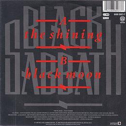 Black Sabbath - The Shining / Black Moon - Netherlands - Vertigo 888 997-7 - 1986 - Back