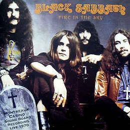 Black Sabbath - Fire In The Sky - LP - Bootleg
