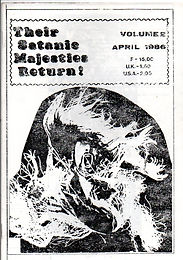 Black Sabath - Fanzine - Their Satanic Majesties Return - No.2