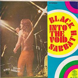 Black Sabbath - Into The Void / Black Sabbath - Thailand - 4 Track M.036 - 197?- Front