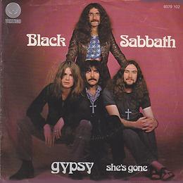 Black Sabbath - Gypsy / She's Gone - Netherlands - Vertigo 6079 102 - 1976 - Front