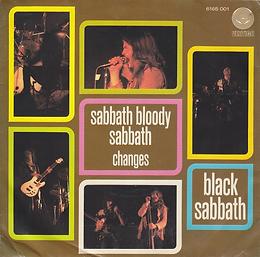 Black Sabbath - Sabbath Bloody Sabbath / Changes - Netherlands - Vertigo 6165001- 1973 - Front