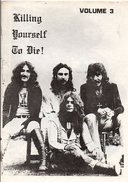 Black Sabbath - Fanzine - Killing Yourself To Die - No.3