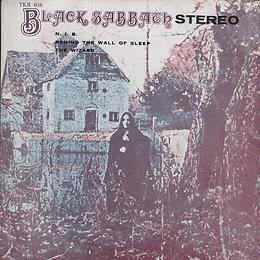 Black Sabbath - N.I.B. / Behind The Wall Of Sleep / The Wizard - Thailand - TKR -036 - 197?- Front