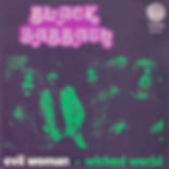 Black Sabbath - Evil Woman / Wicked World - Belgium - Vertigo  6059 002 - 1970