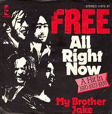 All Right Now / My Brother Jake Island 11 973 AT - 1978
