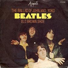 Beatles THe Ballad Of John And Yoko Norway