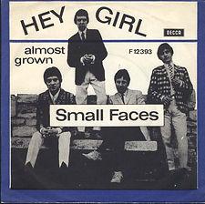 Small Faces Hey Girl (blue) Denmark