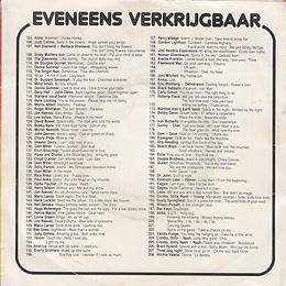 Black Sabbath - Paranoid / Iron Man - Netherlands - Warner Bros GWB 0312- 1975 - Back