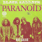 Black Sabbath - Paranoid / Rat Salad  Vertigo 6079 103 Belgium 1970  EX-/EX- (woc)  €25