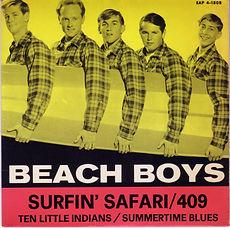 Beach Boys Surfin' Safari EP Sweden