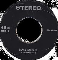 Black Sabbath - Sweet Leaf / Paranoid / Iron Man - Thailand - MC-960 - 197?- side 2