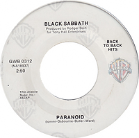 Black Sabbath - Evil Woman / Wicked World - Belgium -Vertigo  6059 002 - 1970 Side 1