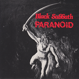 Black Sabbath - Paranoid / Snowblind - UK - NEMS BSS 101 - 1980