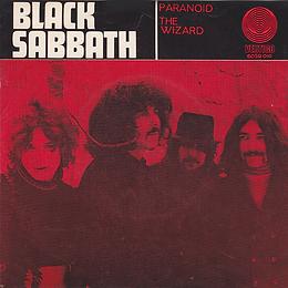 Black Sabbath - Paranoid / The Wizard - Norway - Vertigo 6059 010- 1970