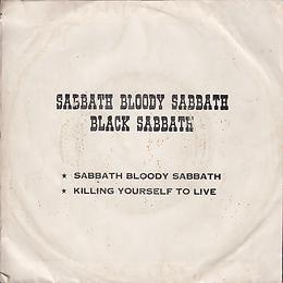 Black Sabbath - Sabbath Bloody Sabbath / Killing Yourself To Live - Thailand - Royalsound TKR 148 - 197?- Back