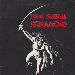 Black Sabbath - Paranoid / Snowblind - New Zealand - RTC BSS 101 - 1980 - Front