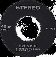 Black Sabbath - Tomorrow's Dream / Supernaut / Snowblind / St. Vitus Dance - Thailand - MC 976 - 197?- side 1