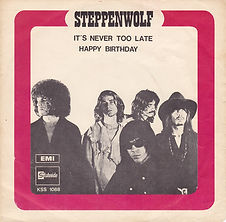 Steppenwolf - It's Never Too Late Sweden