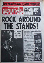 Black Sabbath - Sounds September 1972