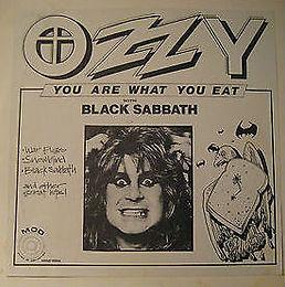 Black Sabbath - You Are What You Eat- LP - Bootleg