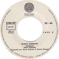 Black Sabbath - Sabbath Bloody Sabbath / Changes - Portugal - Vertigo  6165 001 - 1973 - Sid2