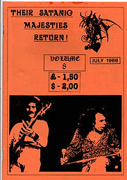 Black Sabath - Fanzine - Their Satanic Majesties Return - No.8