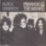 Black Sabbath - Paranoid / The Wizard - Spain - Vertigo 6059 010- 1970 - Front