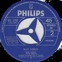 Black Sabbath - Evil Woman, Don't Play Your Games With Me/ Black Sabbath - Japan - Philip SFL-1282 - 1970 - Side 2