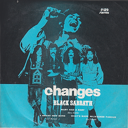 Cliff Richard - A Brand New Song / Mary Hopkin - Mary Had a Baby / Black Sabbath - Changes / Rod Stewart - What's Made.. Stereo - Thailand - 4 Record P.129- 197?- Front