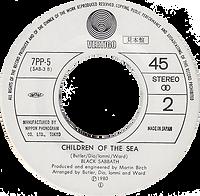 Black Sabbath - Neon Knights / Children Of The Sea - Japan - Vertigo 7PP5 - 1980 - Side 2