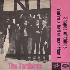 Yardbirds Shapes Of Things Denmark