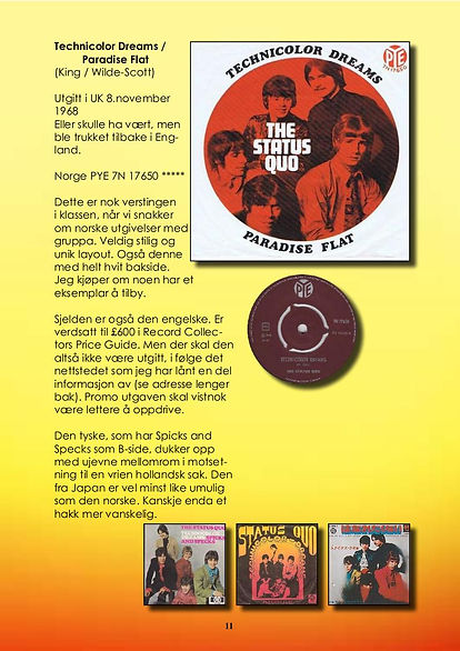 Page from Platesamleren - A Norwegian record collector booklet