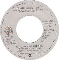 Lady Evil (Edit) / Children Of The Sea Warner Bros WBS 49549 - 1980 - side 2