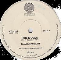Black Sabbath - Never Say Die / She's Gone - Australia - Vertigo 6079 013- 1978