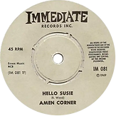 Amen Corner - Hello Susie