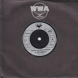Black Sabbath - Sabbath Bloody Sabbath / Changes - UK - WWA 002- 1973