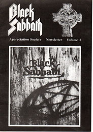 Black Sabbath - Fanzine - Appreciation Society - Volume 3