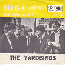 Yardbirds Shapes Of Things Norway
